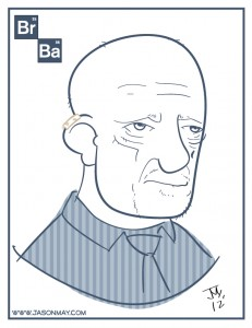 Mike Breaking Bad drawing