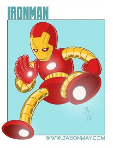Robot version of Iron Man