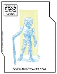 4LOM, star wars, droid, artwork, fan art, jason may, jasonmayart, jimmycakes, bounty hunter, digital, color, droid, robot, robot art